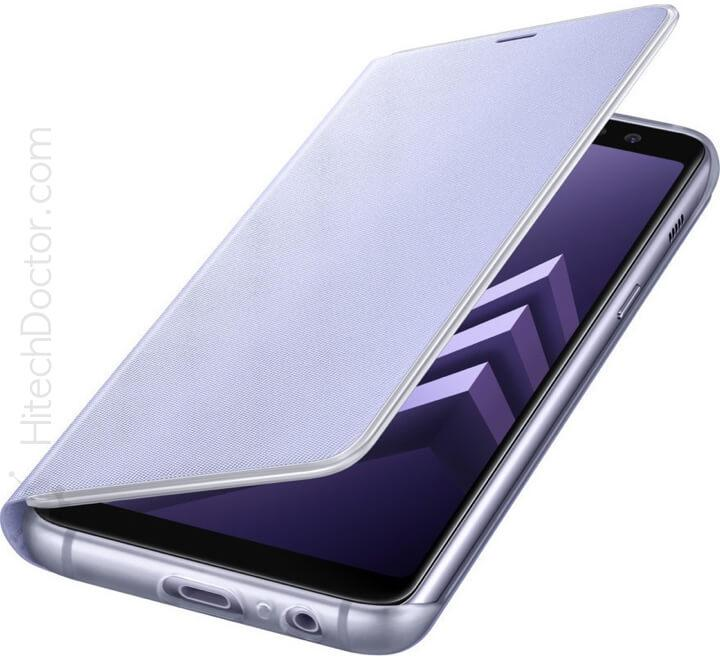 Samsung Neon Flip Cover Orchid Gray