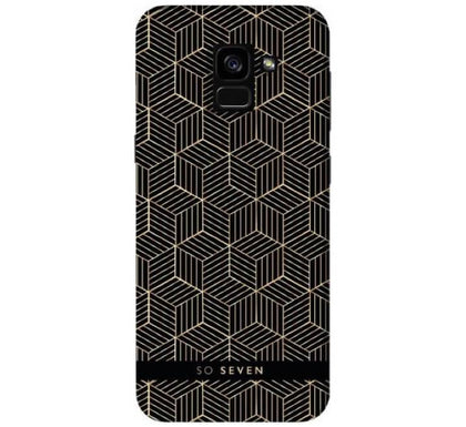 So Seven Midnight Cubic Samsung A8 2018 - HitechDoctor.com