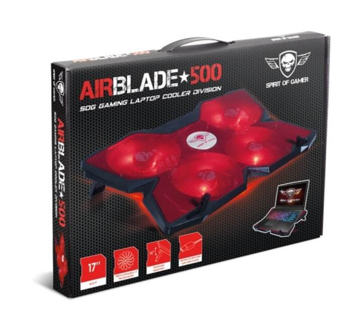 SOG AIRBLADE COOLING PAD red - HitechDoctor.com