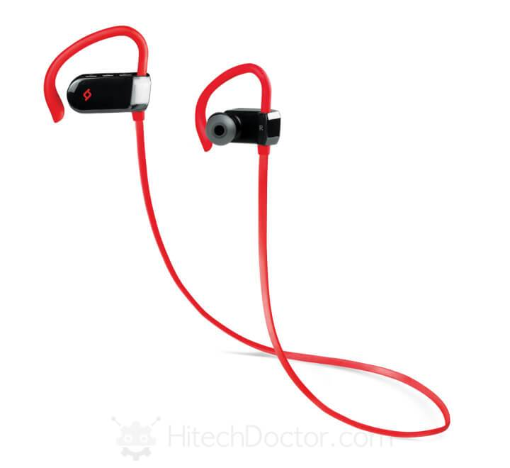 Soundbeat Sport Bluetooth Ακουστικά Red