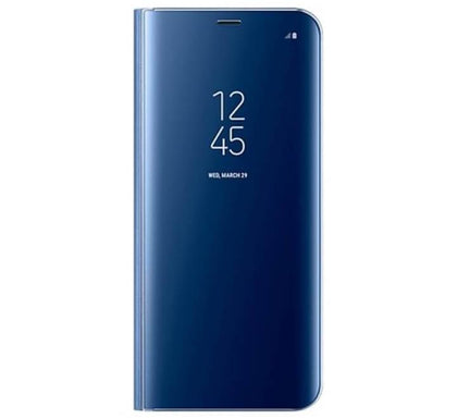 Θήκη Clear View Blue Samsung J6 Plus - HitechDoctor.com