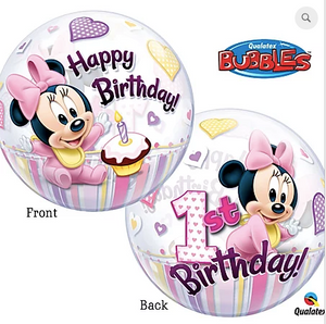 Bubble Balloon Minnie 1st