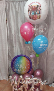 Bubble Birthday Arrangement