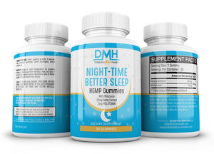 Night-Time Hemp Gummies with Melatonin