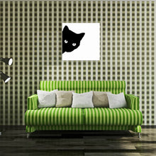 Load image into Gallery viewer, W031 Black Cat Unframed Art Wall Canvas Prints for Home Decoration