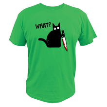 Load image into Gallery viewer, Murderous Cat T-Shirt