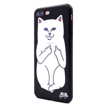 Load image into Gallery viewer, XIX for Funda iPhone X Case 5 5S 6 6S 7 8 Plus X XS Max XR Cute Cats for Cover iPhone 7 Case Soft TPU for Capa iPhone 8 Case