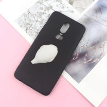 Load image into Gallery viewer, Squishy 3D Toys Phone Cat Case For LG Q8 Q7 2018 Q6 Plus G6 G5 G4 Stylus G3 mini Stylo 4 Panda Cover Funny Foot Soft Cases