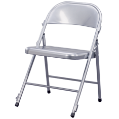 ZOWN Metal Folding Chair