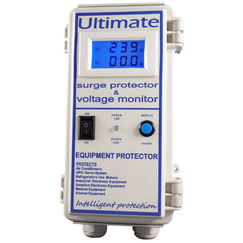 Tritronic Industrial Digital Surge Protector with Display