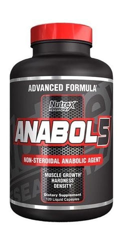Nutrex - Anabol-5 - Testosteron booster - 120 capsules