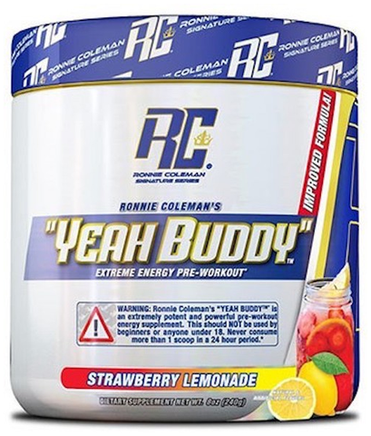 Yeah Buddy - Pre-workout - Ronnie Coleman - Strawberry Lemonade