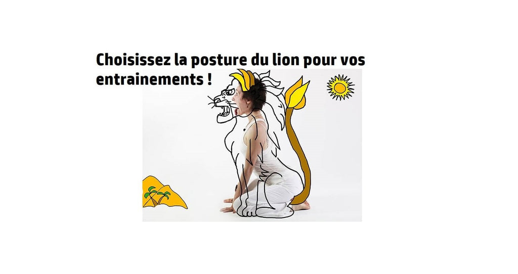 La posture du lion : Étirements, Fitness & Yoga