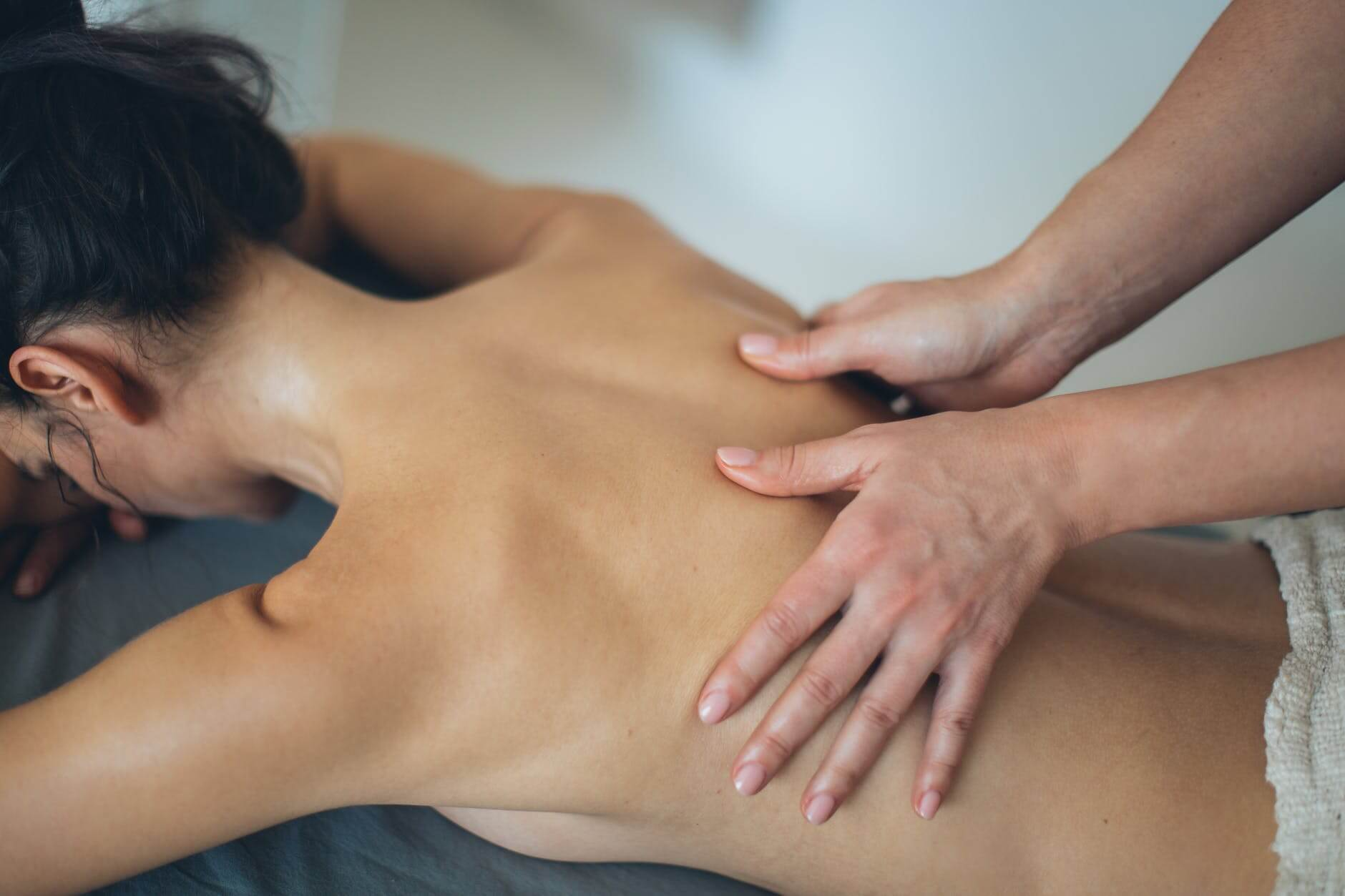 table de massage pour le rolfing