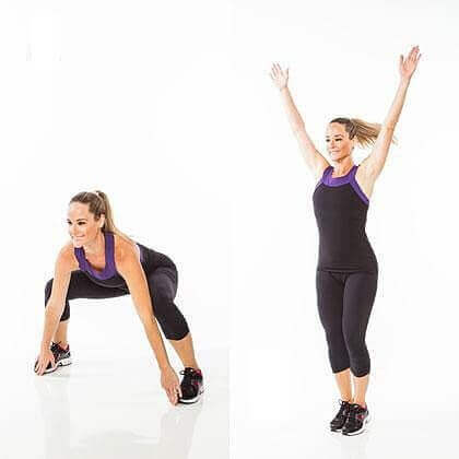 Crossover Jumping Jacks