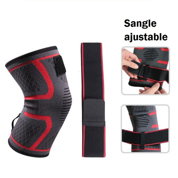 Protège genou ajustable Strapping