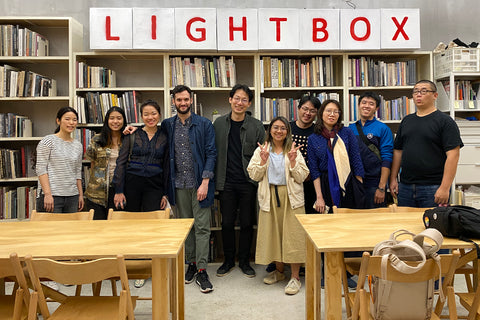 Lightbox Team and Carlos Alba, director of Bubbleclub