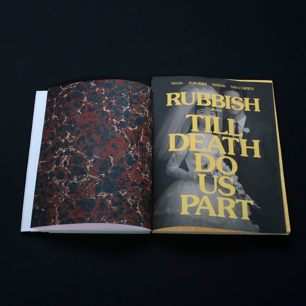RUBBISH FAMzine Vol.2 'Till Death Do Us Part'