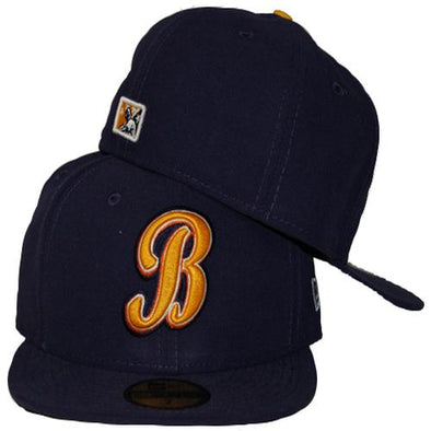 Montgomery Biscuits Official Road Fitted Hat