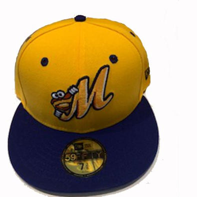 Montgomery Biscuits Official Golden Hat