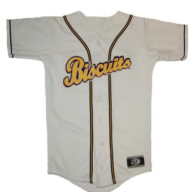 Montgomery Biscuits Home Replica Jersey