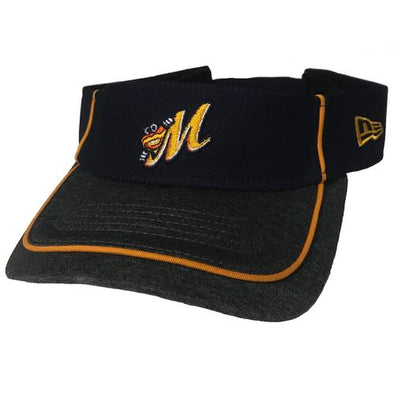 Montgomery Biscuits Trim Swoop Visor