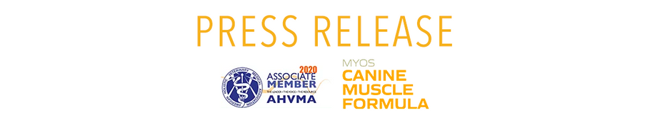 MYOS RENS Announces that Multiple Top-Tier Pet Insurance Companies Now Cover its Canine Nutrition Products