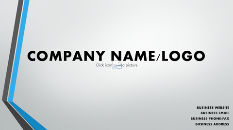Startup Investor Business Pitch Deck - LegacyBranding