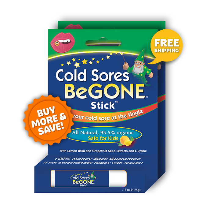 Cold Sores BeGONE Stick™ TWIN PACK