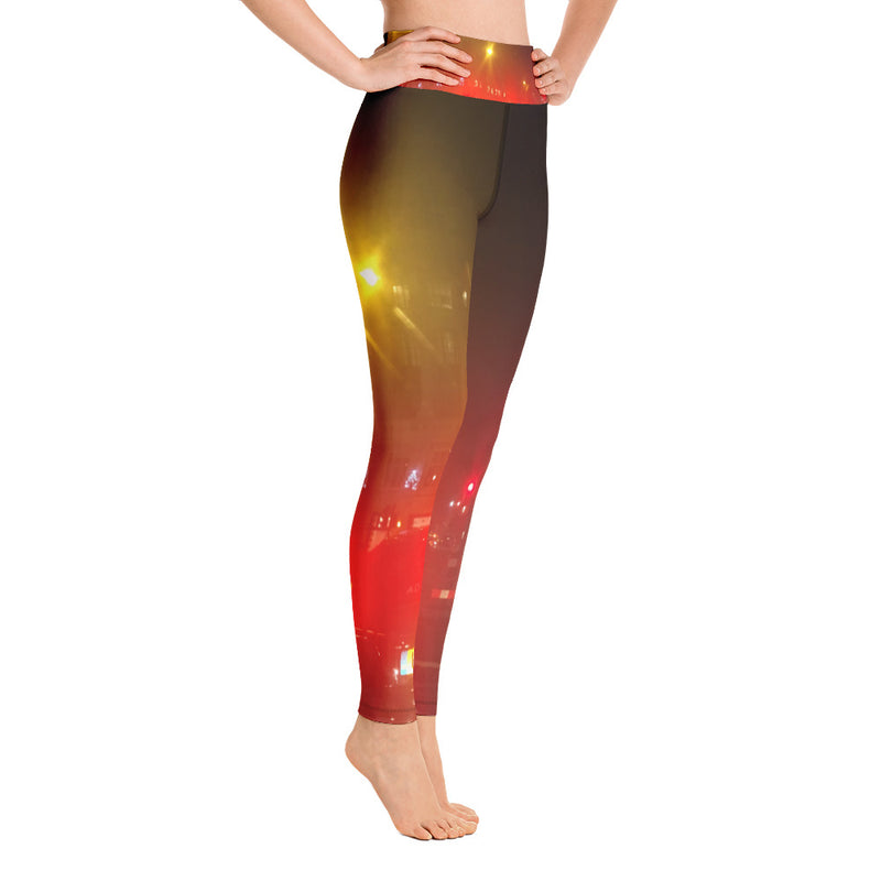 """London Nights"" Printed Leggings"