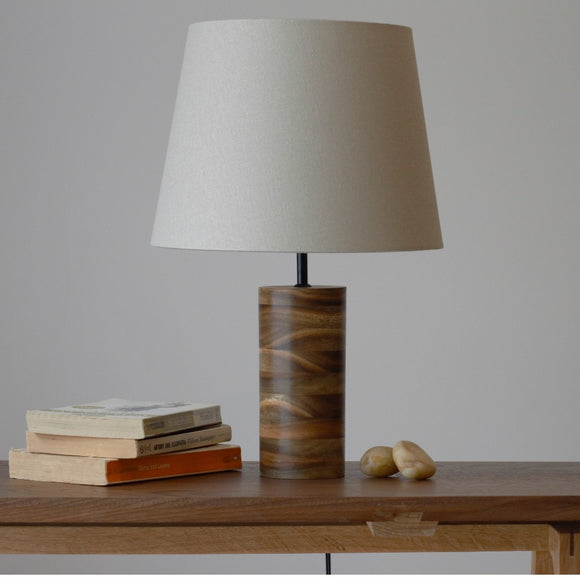 Table Lamp with Spotted Gum
