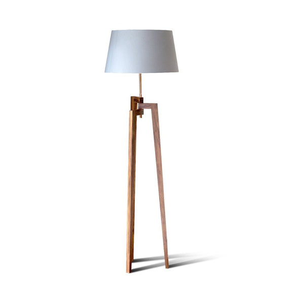 Floor Lamp| timber floor lamp