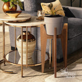 Plant stand| timber plant stand| Plant shelf