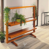 Plant shelf|timber plant stand| wooden plant stand| tiered plant stand|hanging plant stand