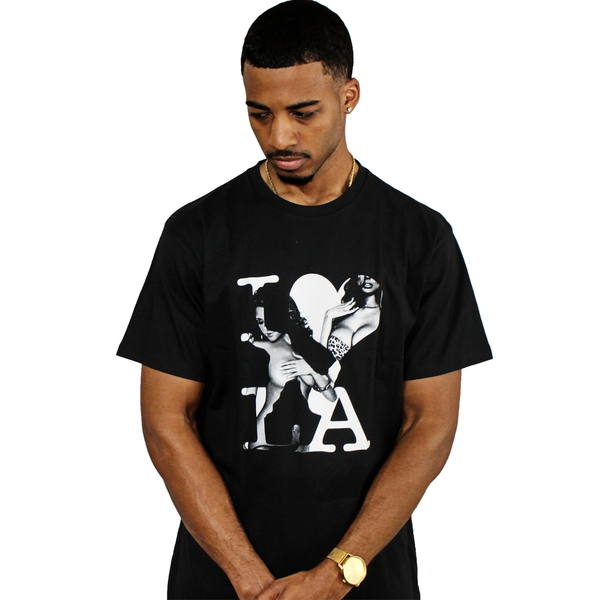 DonDeMarco I Love LA Black T-Shirt - Luxury Brand LA - Shop Latest Trends and Hottest Apparel from Luxury Brand LA