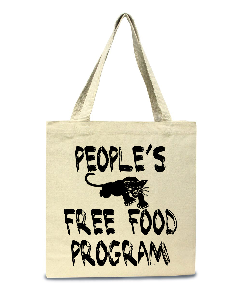 People's free food program tote bag-Luxury Brand LA - Luxury Brand LA - Shop Latest Trends and Hottest Apparel from Luxury Brand LA