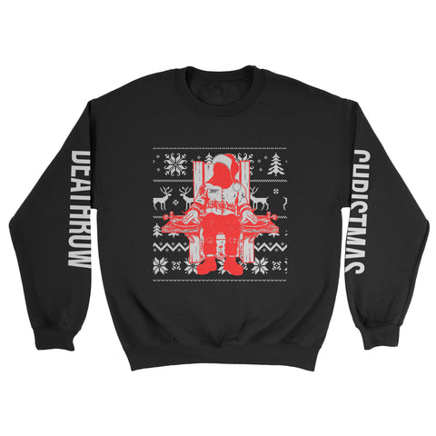 Christmas on Deathrow Sweatshirt - Luxury Brand LA - Shop Latest Trends and Hottest Apparel from Luxury Brand LA