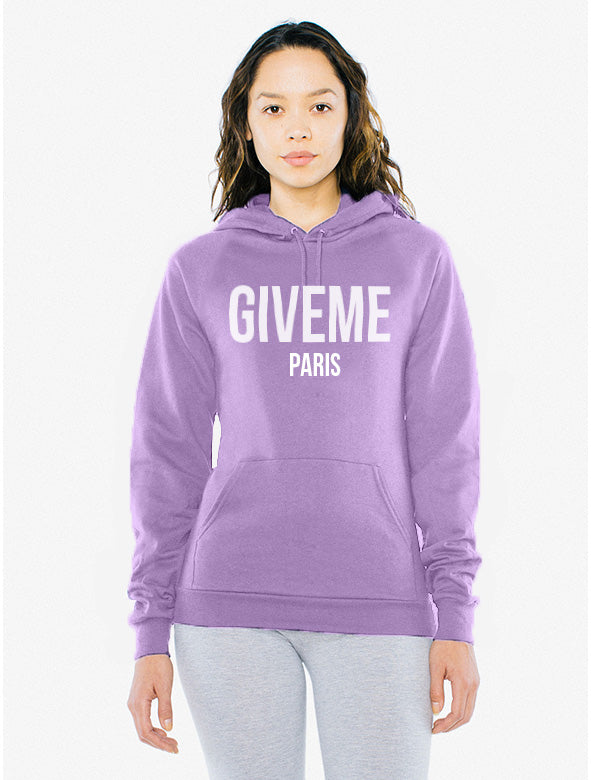 Give Me Paris Unisex Hoodie - Luxury Brand LA - Shop Latest Trends and Hottest Apparel from Luxury Brand LA