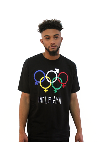 INTL. PLAYA OLYMPIC T-Shirt-DonDeMarco - Luxury Brand LA - Shop Latest Trends and Hottest Apparel from Luxury Brand LA