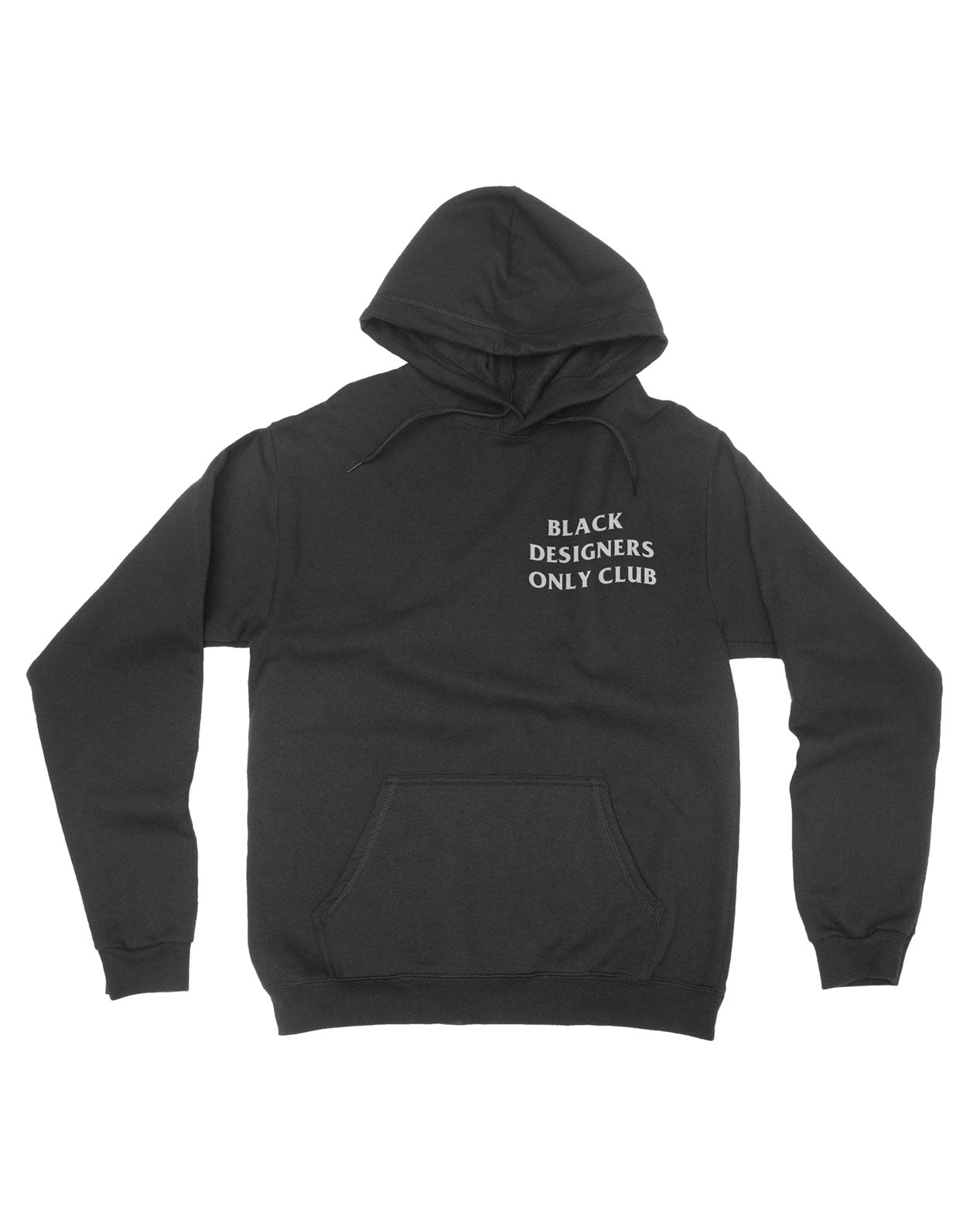 Black designers only Unisex Hoodie - Luxury Brand LA - Shop Latest Trends and Hottest Apparel from Luxury Brand LA
