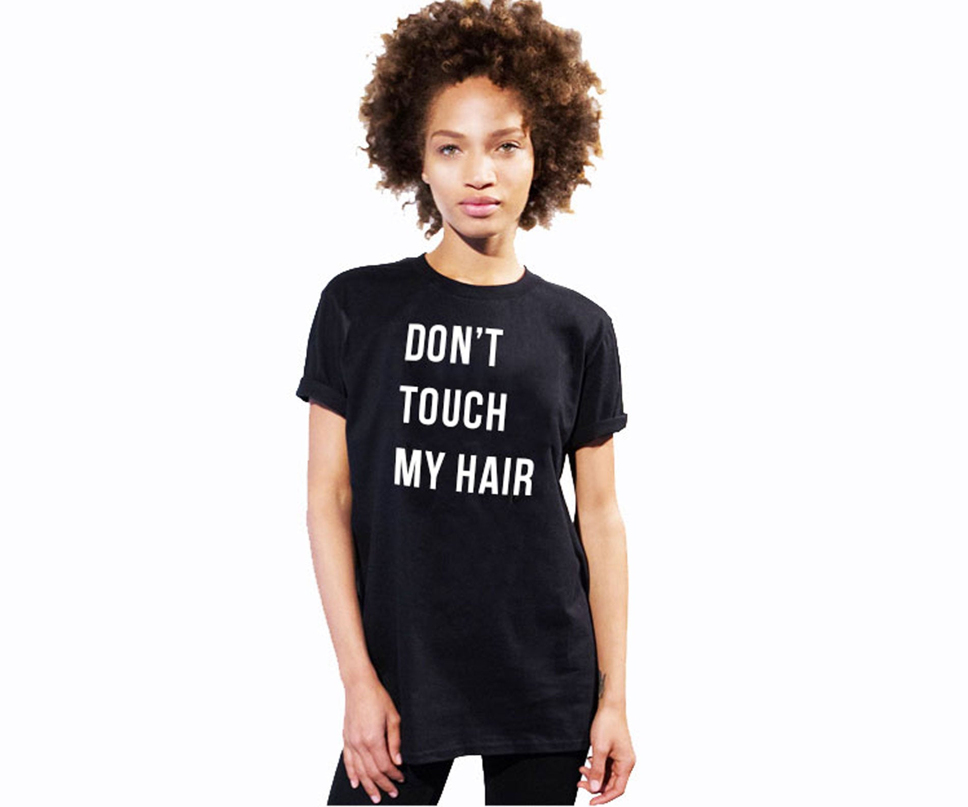 Don't touch my hair T-Shirt-Luxury Brand LA - Luxury Brand LA - Shop Latest Trends and Hottest Apparel from Luxury Brand LA