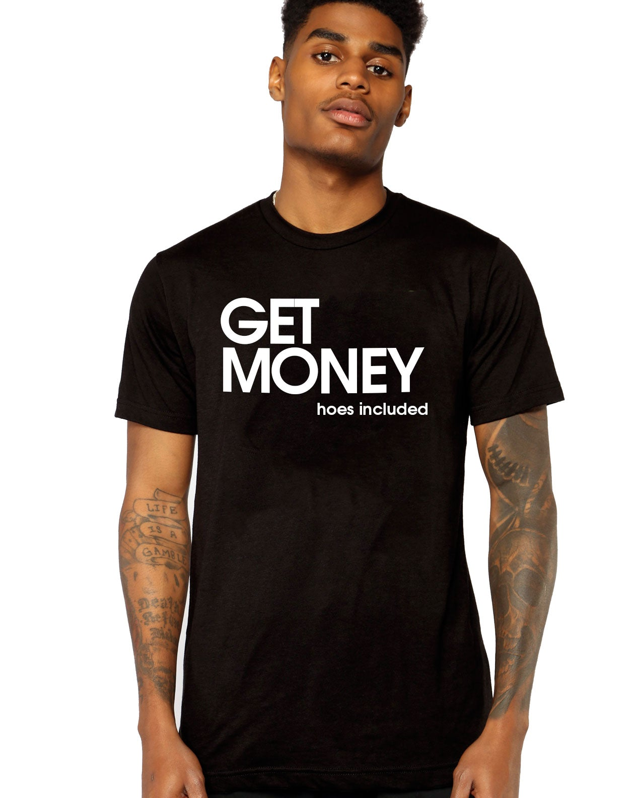 Get Money Tee- Luxury Brand LA - Luxury Brand LA - Shop Latest Trends and Hottest Apparel from Luxury Brand LA