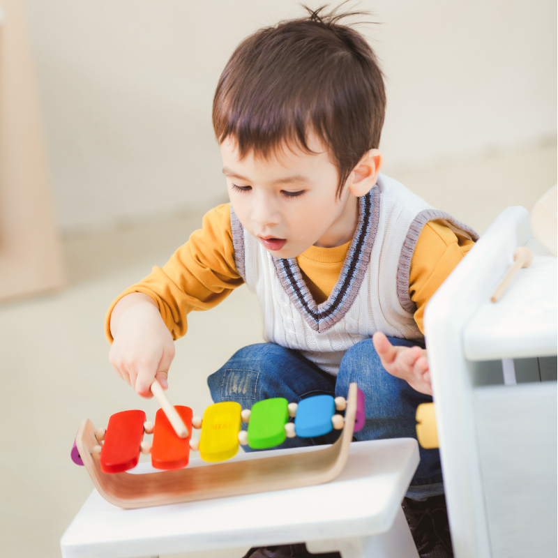 Plan Toys- Oval Xylophone