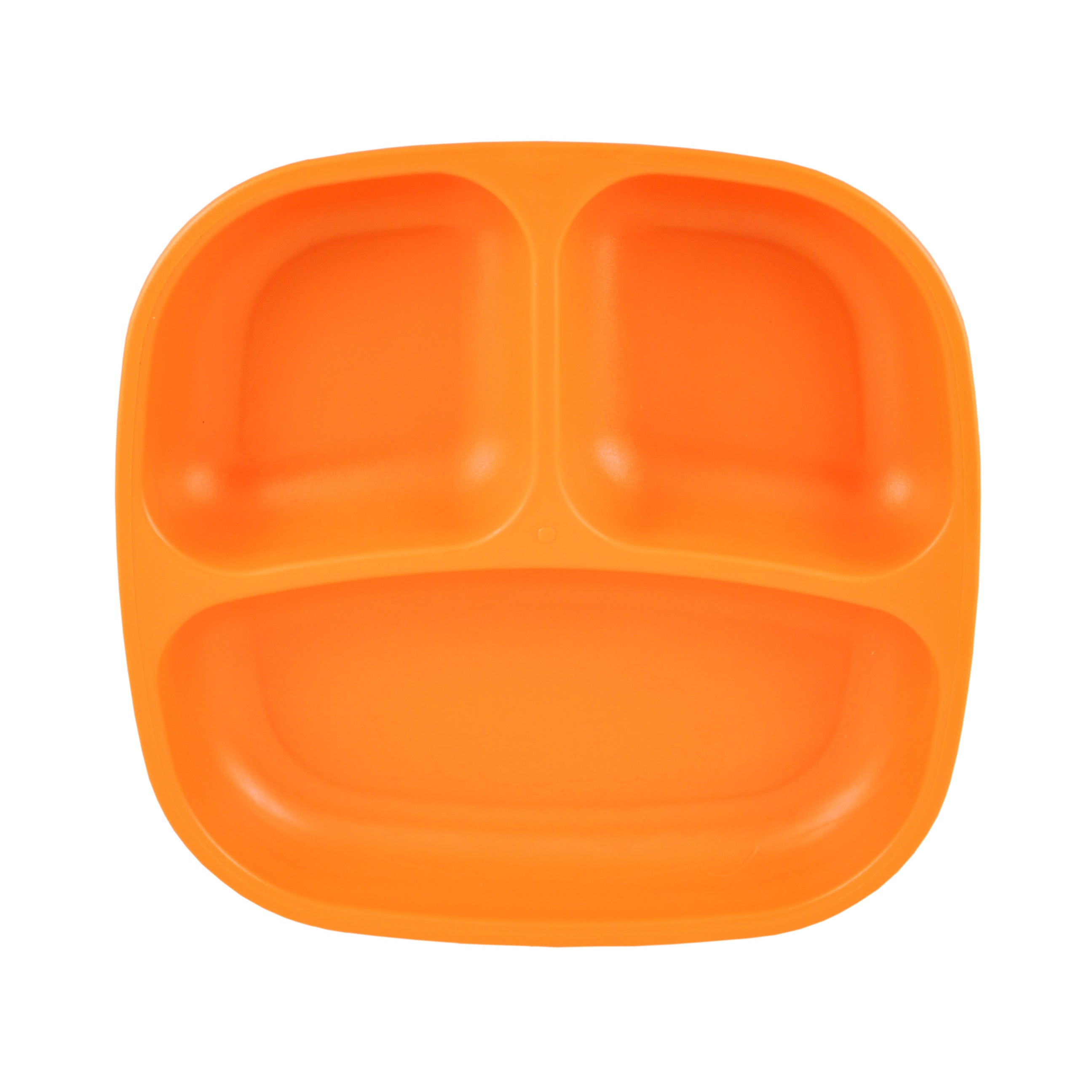 "Re-Play 7"" Divided Plate - Orange"