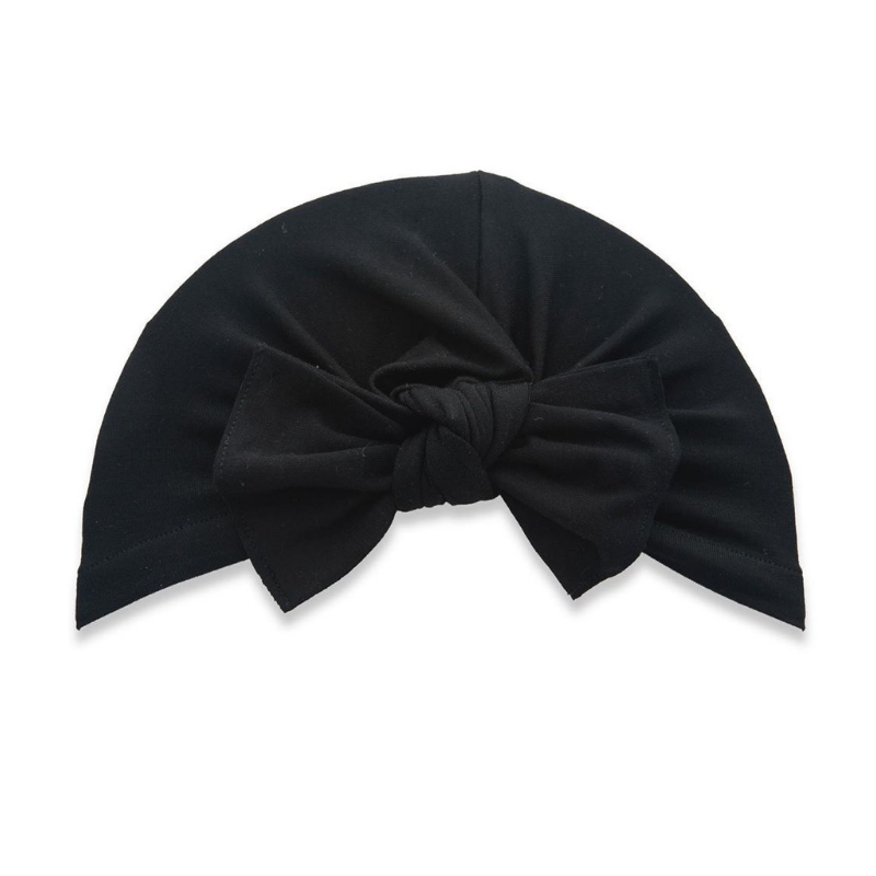 Knot Turbun Bow - Black