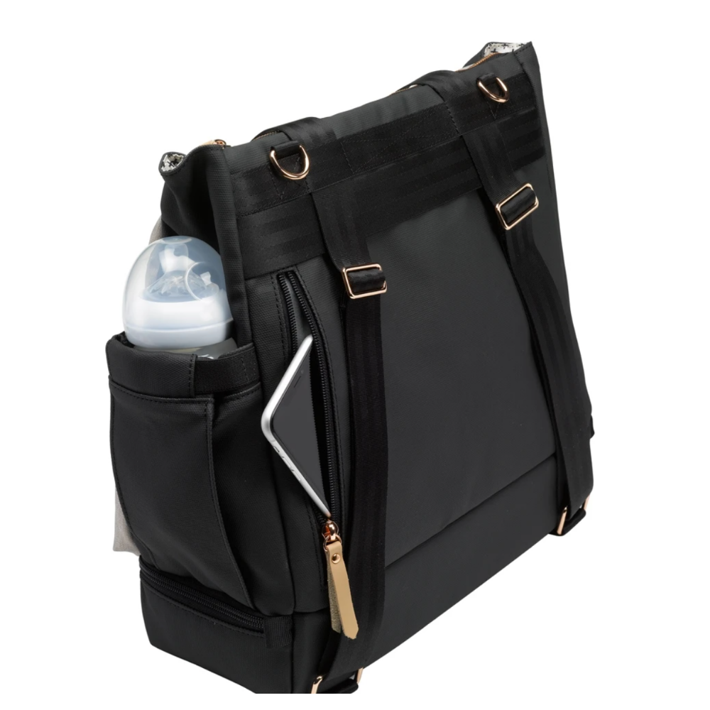 Pivot Backpack- Sand & Black