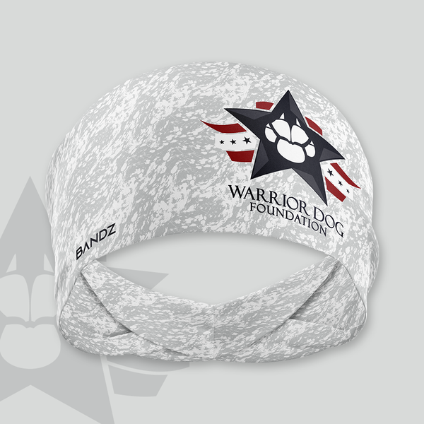 WDF Training Headband - Grey Marble