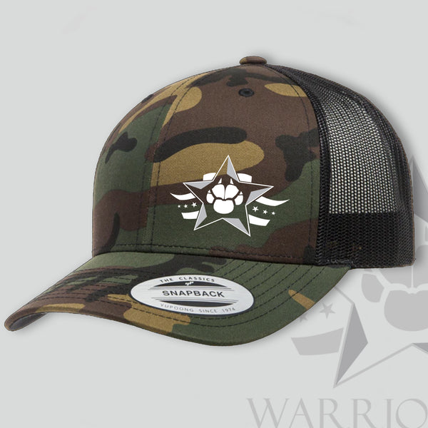 Warrior Dog Foundation Trucker Hat - Camouflage
