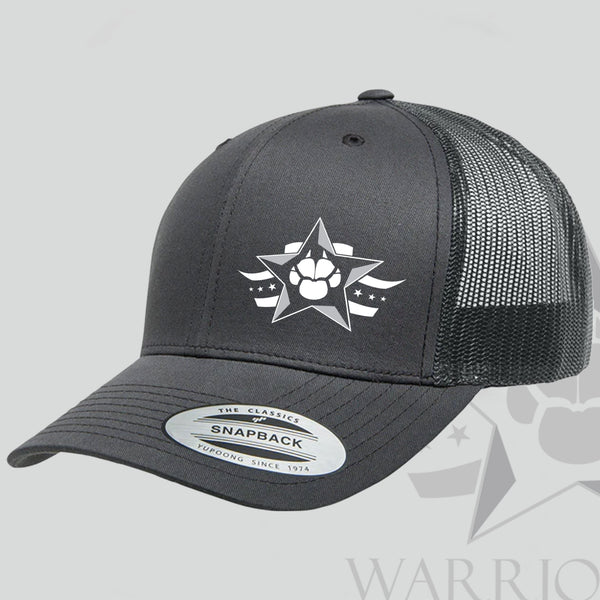 Supporter Series Signed Pic & Warrior Dog Foundation Hero Hat - Limited Edition Charcoal