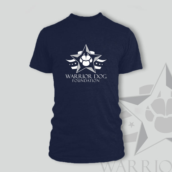 Warrior Dog Foundation Men's T-Shirt - Midnight Navy
